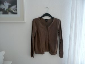 H&M Basic Cardigan braun