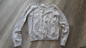 H&M Basic Cardigan Strickjacke Strick Knit Nude S