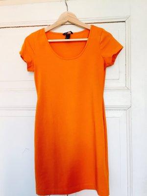 H&M Basic, enges Minikleid, Größe 36/S