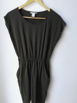 H&M Basic Kleid mit Seiten taschen