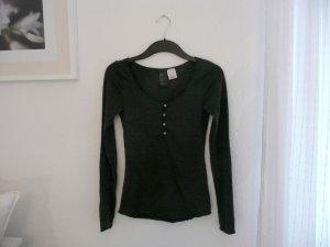 H&M Basic Shirt Anthrazit