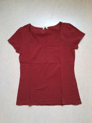 H&M Basic T-Shirt rostrot