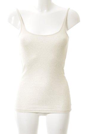 H&M Haut basique blanc cassé élégant