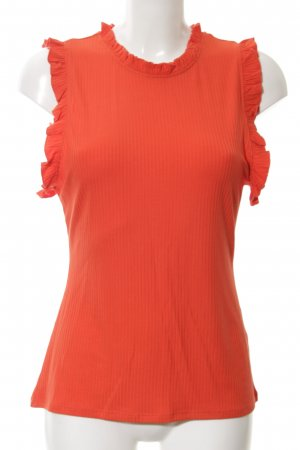 H&M Top basic rosso stile casual