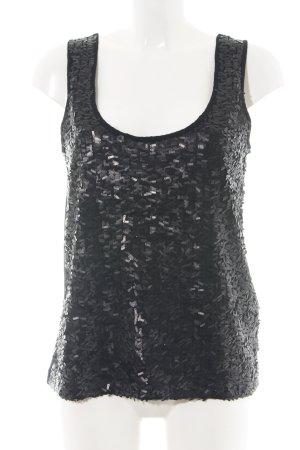 H&M Haut basique noir style festif