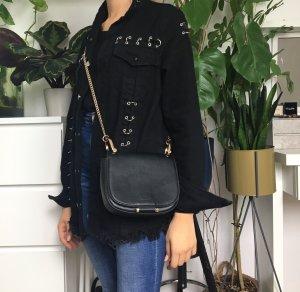 H&M Crossbody bag black-gold-colored