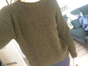 H&M Basic Wollpulli khaki