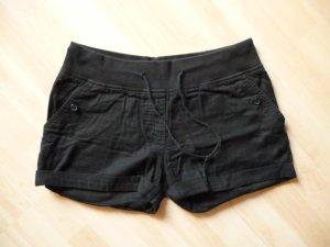 H&M Shorts negro Algodón