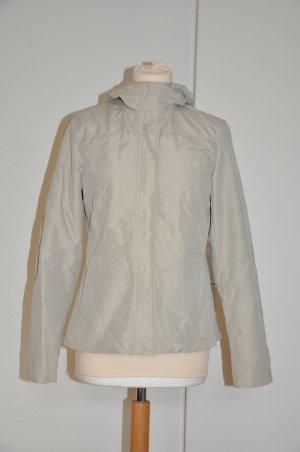 H&M beige creme Jacke Übergangsjacke Gr. XS 34 mit Kapuze