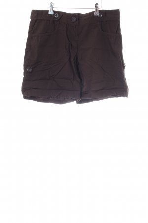H&M Bermudas dark brown casual look