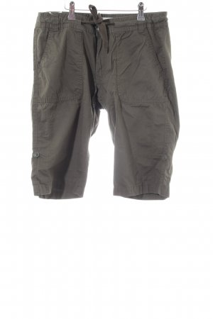 H&M Bermudas green grey casual look