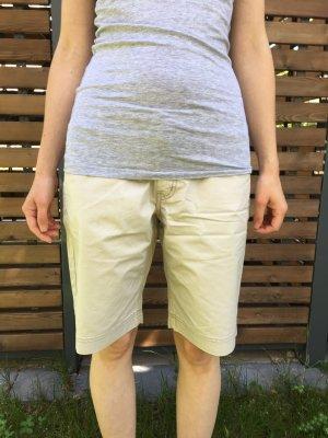 H&M Bermuda Hose beige