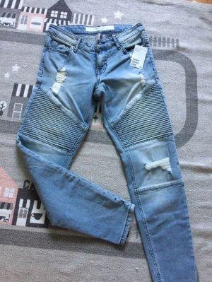 H&M Biker Jeans zu verkaufen