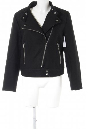 H&M Biker Jacket black biker look