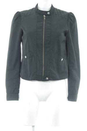 H&M Bikerjacke schwarz Casual-Look