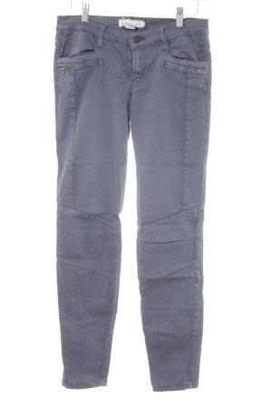 H&M Bikerjeans graublau Casual-Look