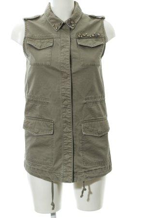 H&M Bikerweste khaki Military-Look