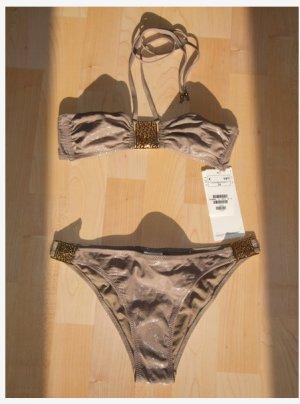 H&M Bikini Gr. 34 Hose Bandeau Neu* Etikett