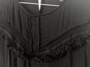 H&M Black Evening Embroidery Dress
