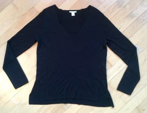 H&M Knitted Top black