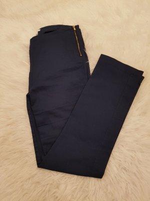 H&M High Waist Trousers blue