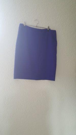 H&M Blauer Bleistiftrock