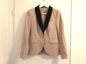 H&M Blazer 34 / XS Puder rosa schwarz Top Business Büro Jacke