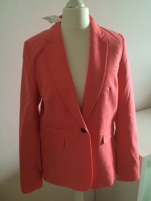 H&M Blazer 38 M NEU lachs rosa peach