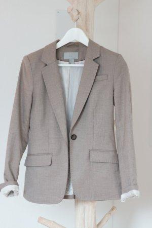 H & M Blazer beige/sand meliert Größe 34
