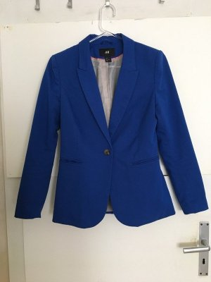 H&M Blazer blau 38 Business