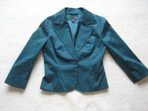 H&M blazer bolero blau petrol neuwertig gr. xs 34