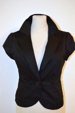 H&M Blazer Business Black XS Baumwolle Neu
