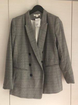 H&M Long Blazer grey