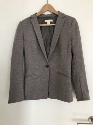 H&M Jersey Blazer grey