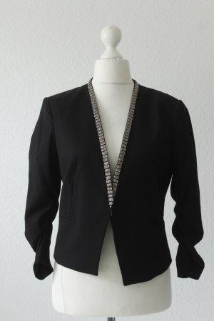H&M Blazer Gr. 42 schwarz - wie neu