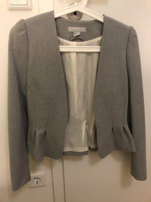 H&M Blazer grau Größe 34
