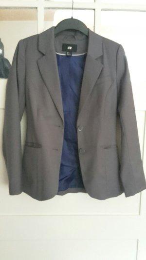 H&M Blazer grau, Größe36