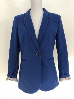 H&M Blazer Jacke Anzug blau königsblau