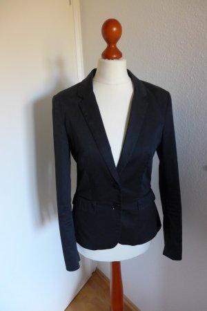 H&M Blazer Jacke schwarz tailliert Gr. 34
