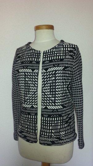 H&M Blazer*Jäckchen*ETHNO*schwarz weiß**ausverkauft*Gr.38*