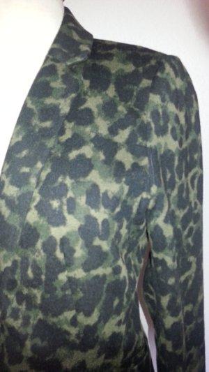 H&M Blazer Jerseystoff Leo Gr. 38 neuwertig selten