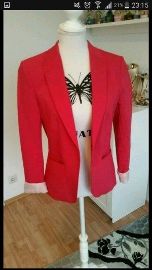 H&M Blazer Magentarot/ Pink