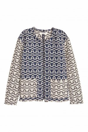 H&M Blazer mit Jacquardmuster Gr. 38, wie NEU Kollektion 2016