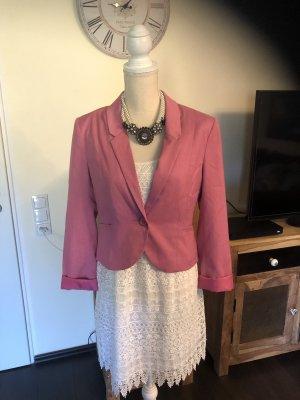 H&M Blazer in jersey color oro rosa-rosa