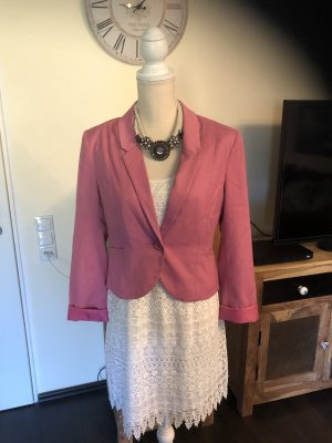 H&M Jersey Blazer rose-gold-coloured-pink