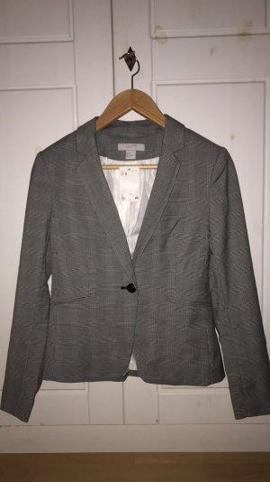 H&M Blazer neu karos schwarz weiß