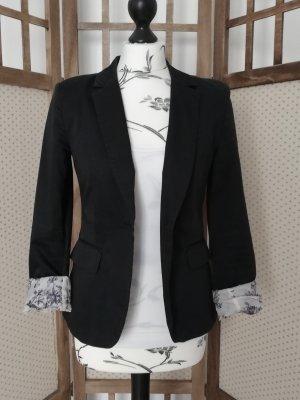 H&M Tuxedo Blazer black