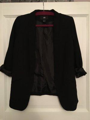 H&M Blazer schwarz Gr. 42