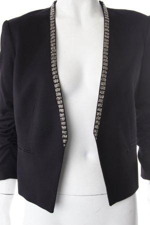 H&M Blazer Schwarz Perlen