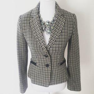 H&M Blazer schwarz/weiß kariert Gr. 36